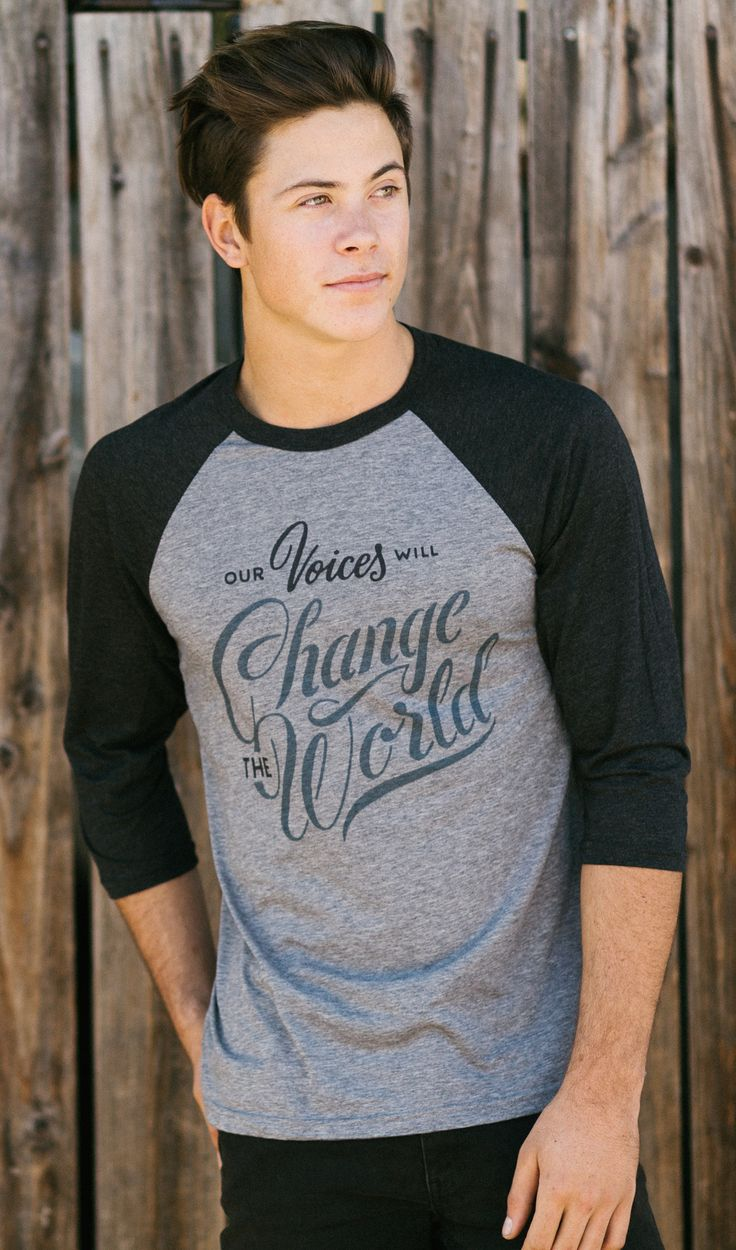 This baseball tee is the perfect shirt to throw on and go. Plus, it gives back $7 of your purchase to charity! #Sevenly