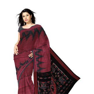 onlie exclusive Sambalpuri cotton sarees, Orissa handloom saris, Sambalpuri ikkat sarees from Unnati silks, largest Indian ethnic shopping store. Worldwide express shipping to India, UK, USA, South Africa, Singapore, Oman, Mauritius, Dubai others