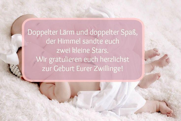 20 Glückwünsche und schöne Sprüche zur Geburt eines Kindes ...