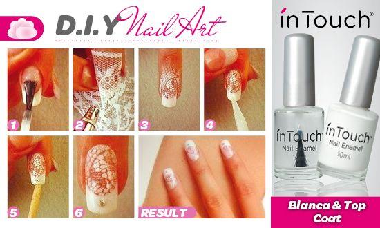 Lace DIY Nail Tutorial