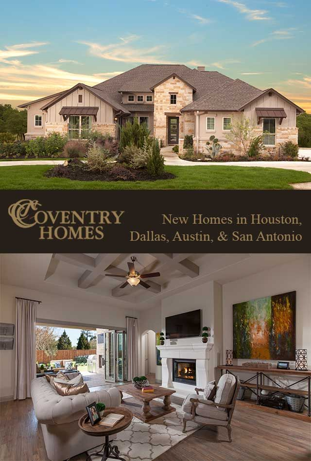 the new homes for sale in houston tx from coventry homes allow buyers to customize designs to their needs and wants