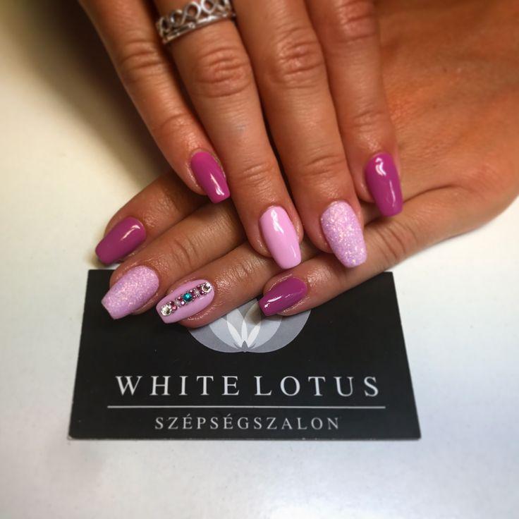 Pink nails 💕🔮💕 ➡️Instagram : anett.volcz