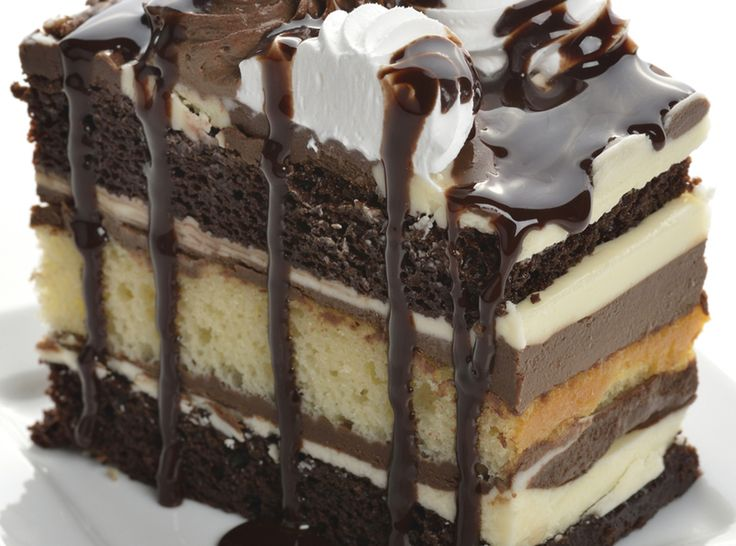 Chocolate Layer Cake  from  Just a pinch Full recipe