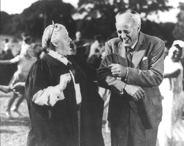 Margaret Rutherford and Alastair Sim in    The Happiest Days of your Life