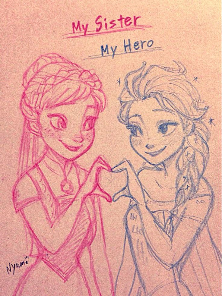 I don't know why but I'm clearly having Frozen Fever these days. Literally. But anyways, I'm totally a Frozen fan! And this drawing is really adorable :)