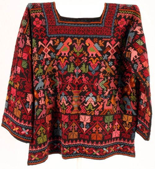 Mexican Embroidered Sweater