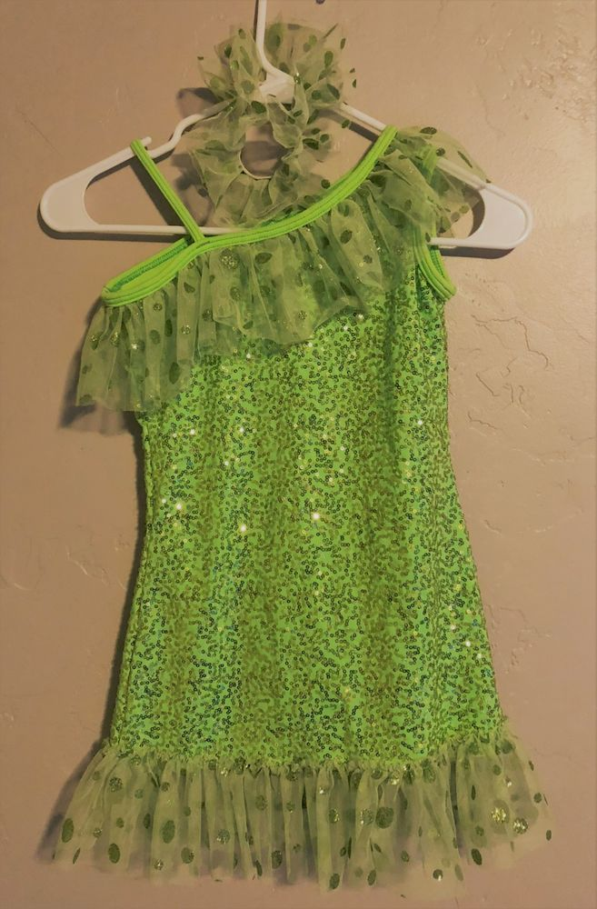 b9825075f Weissman Girls Dance CostumeSequin Dress over Satin Leotard with ...