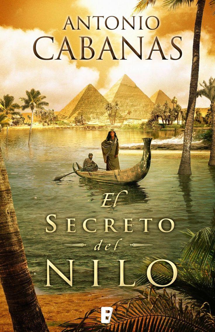 """Antonio Cabanas  """"*El secreto del Nilo*. Espectacular, a mí me enganchó desde el primer momento. Ameno, interesante y totalmente documentado."""