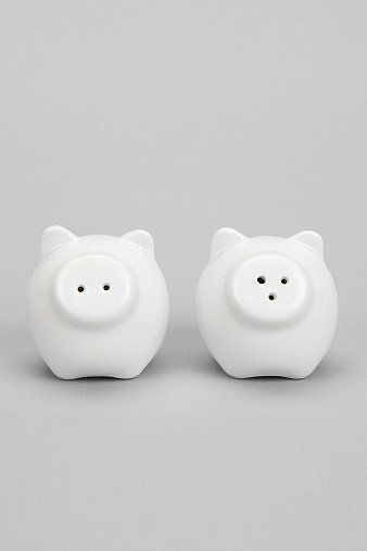 Pig Salt And Pepper Shaker - Set Of 2