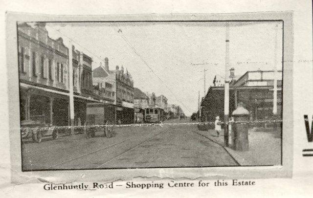 Glenhuntly Road, Elsternwick.