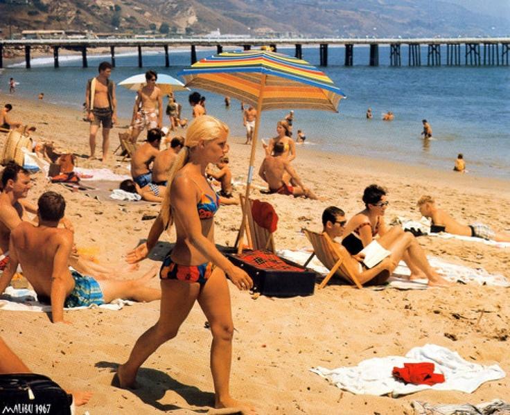 Malibu, 1967. my favorite beach