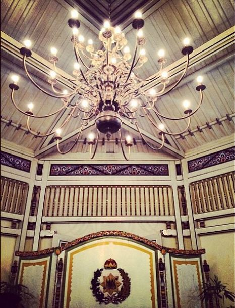 Since 1757, Mangkunegaran Royal Palace adapted European architecture combine with Java architecture that brings charm and luxurious beauty. #LiveFromAPSDA2014 #APSDAday2 #RoyalPalace pict of @diananazir