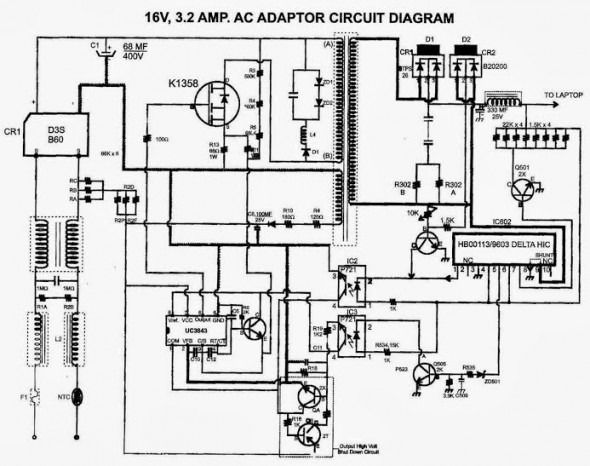 Hp Power Adapter Wiring Diagram | Diagram | Diagram, Wire