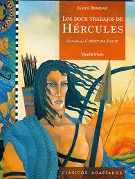 """""""Los doce trabajos de Hércules"""" de James Riordan. Ficha elaborada por Steven Scott Cortez."""