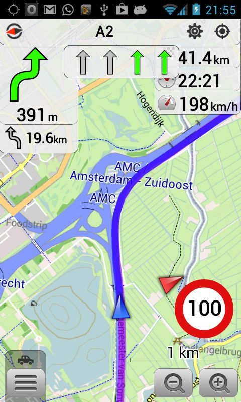 OsmAnd Maps & Navigation - works offline and shows service stations