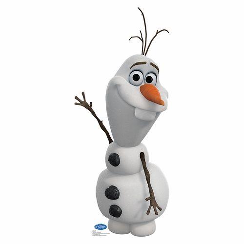 Disney Frozen Olaf Lifesized Standup