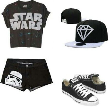 Star Wars outfit #outfit #starwars #nerd