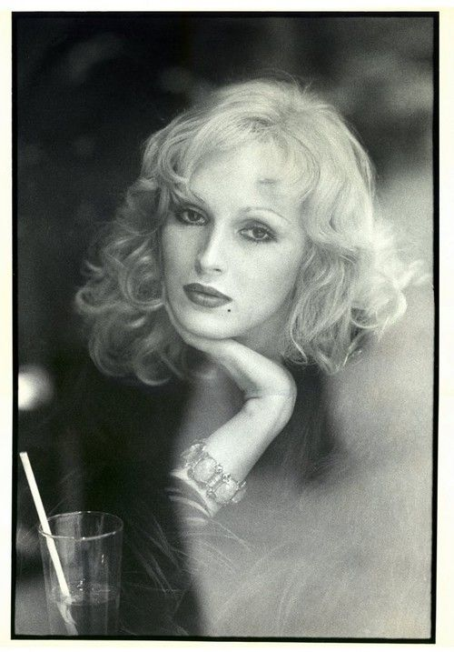 Candy Darling photographed by Peter Beard in the 1970s.