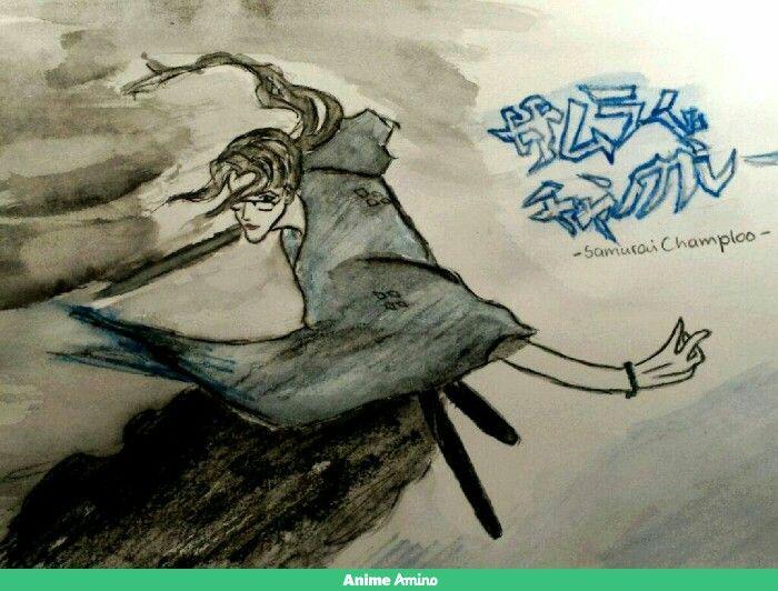 Jin-Samurai Champloo(own drawing)
