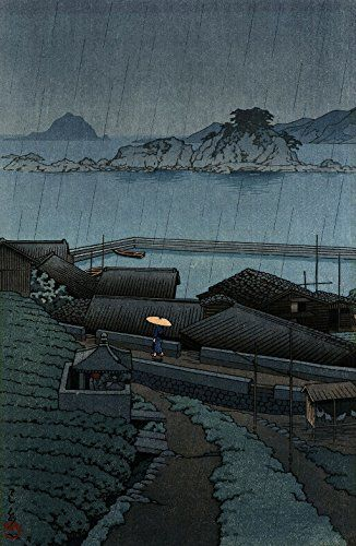 "Japanese Art Print ""Mirozu, Wakayama Prefecture"" by Kawase Hasui. Shin Hanga and Art Reproductions http://www.amazon.com/dp/B01E8S53ZQ/ref=cm_sw_r_pi_dp_Fm5dxb1R2FP5E"