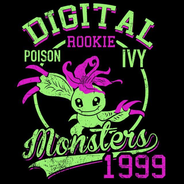 Poison Ivy T-Shirt $12.99 Digimon tee at Pop Up Tee!