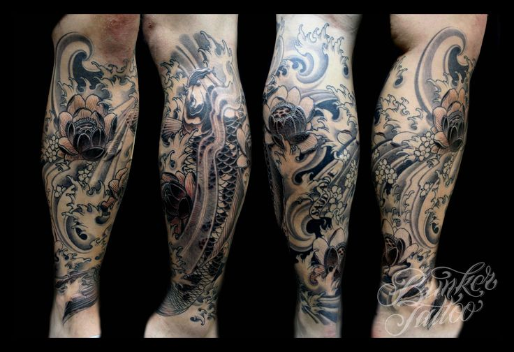 Sick calf tattoo design tattoos pinterest nice for Sick tattoo sleeves