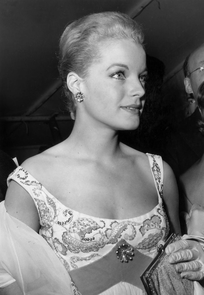 Romy Schneider at the Cannes Film Festival, May 5, 1959