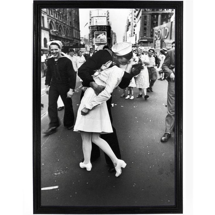 V-J Day in Times Square Poster
