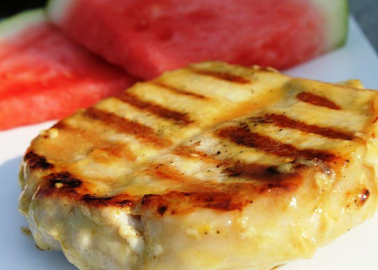 Maple & Mustard Glazed Pork Chops | Recipes to TRY | Pinterest