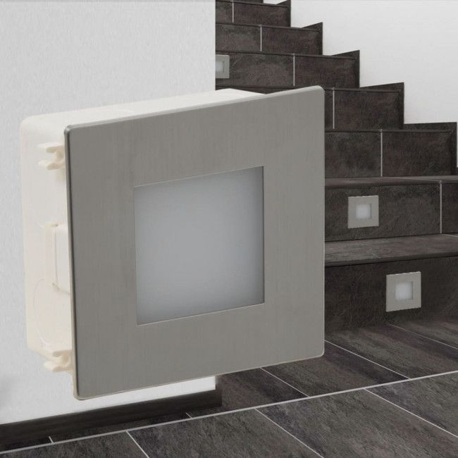 Foco Led Empotrable Para Escaleras 85 X 48 X 85 Mm Luces En Escaleras Focos Temperatura Del Color