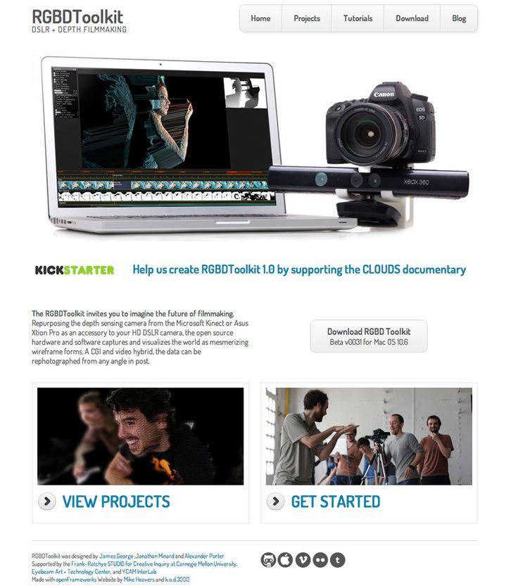 RGBD Toolkit Kinect