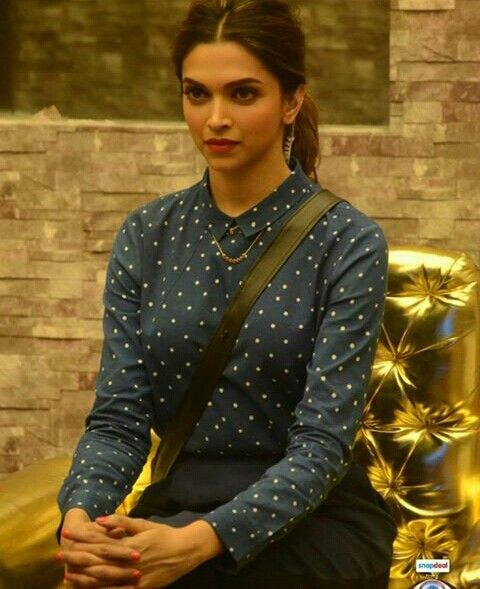 Deepika in Bigboss for TAMASHA promotion