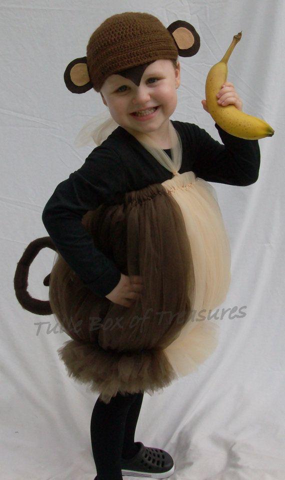 Tutu Monkey Costume
