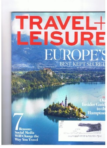 Travel + Leisure Magazine July 2012 Europe's « Library User Group
