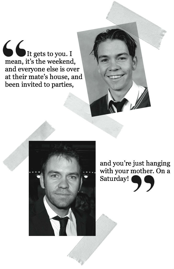 Brendan Cowell in Don't Peak at High School
