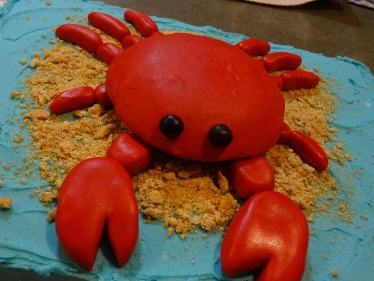 cute little crab cake bymarleycakes