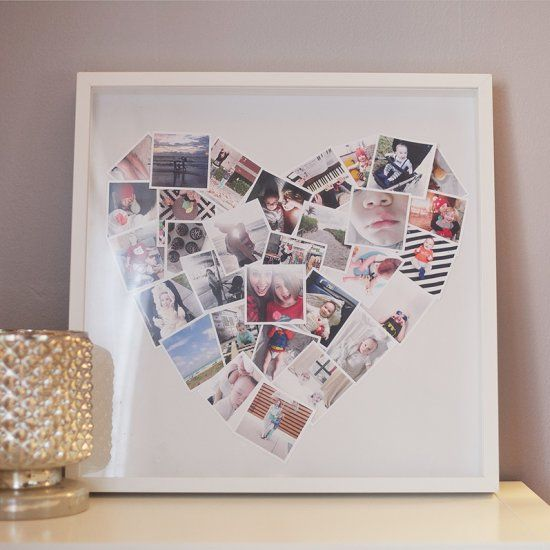 Get to know Tabitha and learn how to make a Mini Heart Photo Collage DIY courtesy of Fresh Mommy Blog.