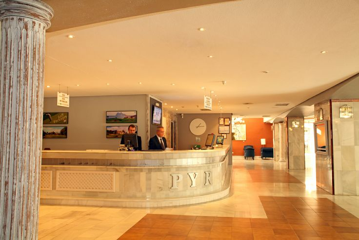 Front Desk, Hotel PYR Marbella, Puerto Banus, Marbella, Andalucia, Spain