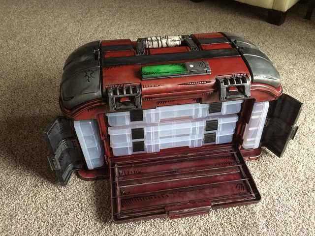 I Modded A Tackle Tool Box To Look Like A Borderlands Loot Chest