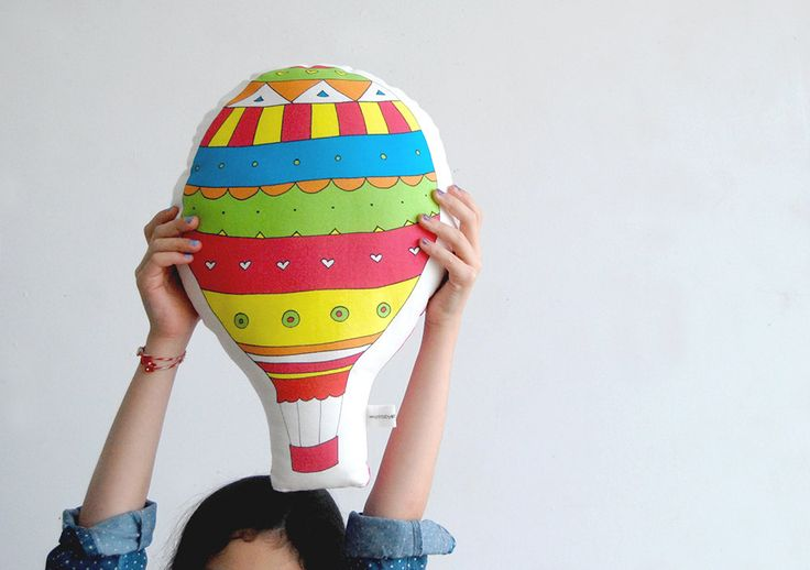 Stuffed toy Colorful balloon soft toy, pillow, Decorative cushion, Children pillow, kids toy, baby deco baby room stuffed toy, nursery room