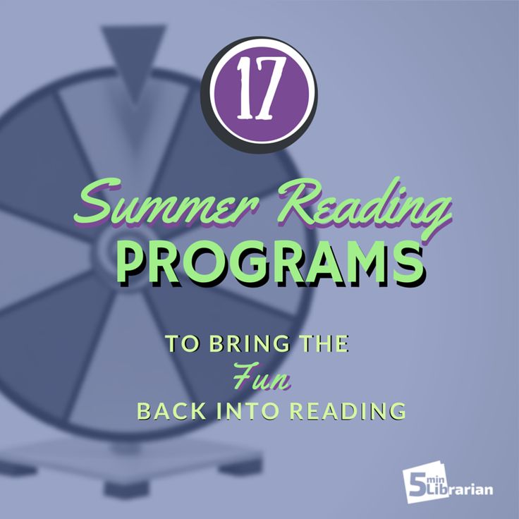 17 WAY TO ACCOMPLISH SUMMER READING PROGRAMS - -  How do you run your summer reading program? There are so many different ways to encourage patrons to read, we decided to compile a list for you: