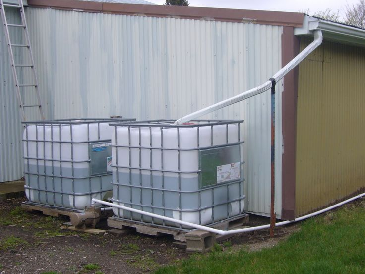 Rain Water Harvesting... Not Pretty But It Works | Rainwater Harvesting |  Pinterest | Rain, Water And Water Catchment