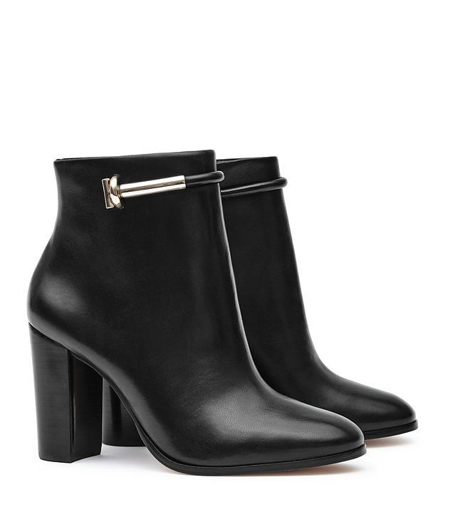 REISS - ZOE METAL-DETAIL BOOTS