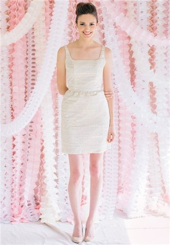 LulaKate Little White Dress Samantha available at Southern Protocol Boutique #charleston #wedding #gown #dress