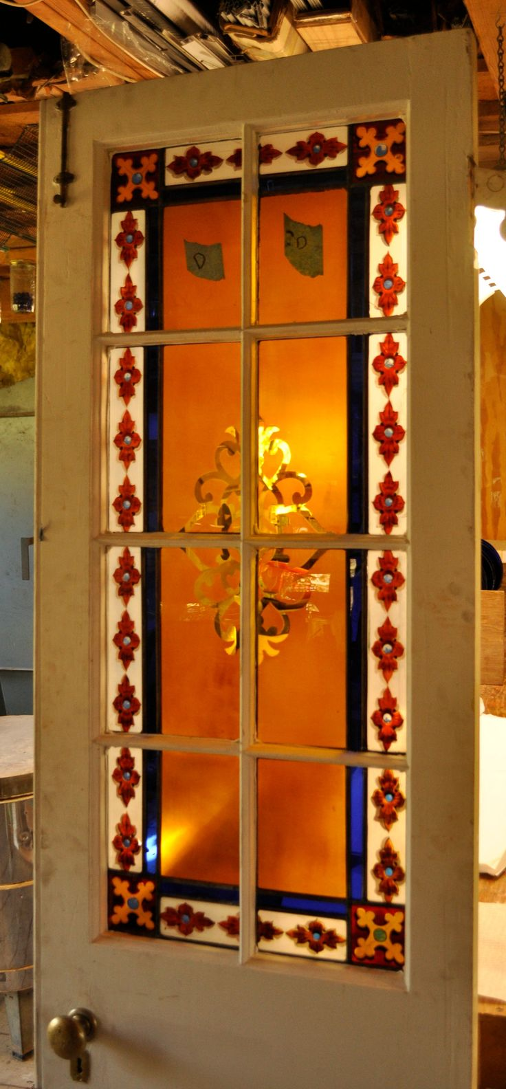 65 best stained glass images on pinterest stains stained glass a painted stained glass door we restored for a private chapel see more www eventelaan Image collections