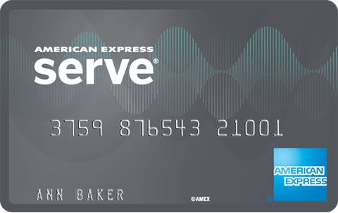 American Express Serve Cash Back Card