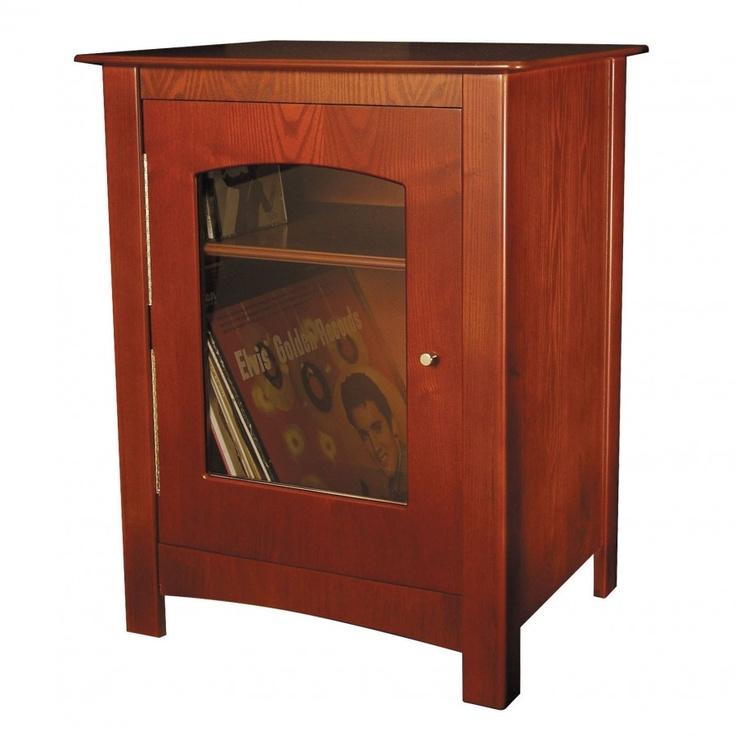 Crosley Williamsburg Audio Cabinet Finish Paprika St75