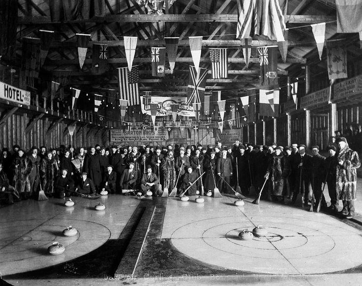 Dawson Curling Club Bonspiel, Dawson, Yukon / Bonspiel au club de curling de Dawson (Yukon) | by BiblioArchives / LibraryArchives