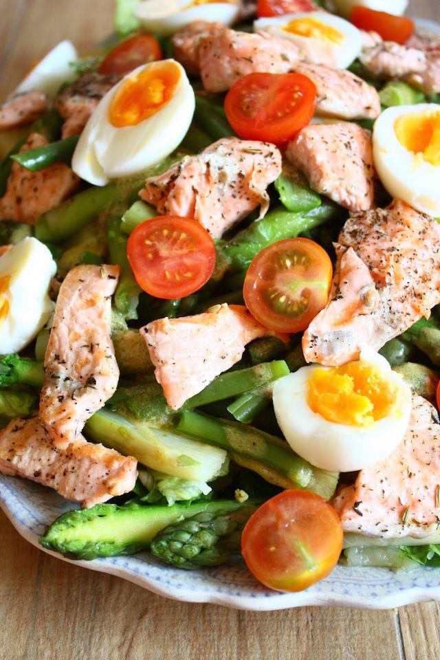 Soms wil je een salade niçoise maken en dan wordt het iets heel anders. Bekijk hier het recept voor de 'niet zo' salade niçoise die je 'wel zo' wilt maken.