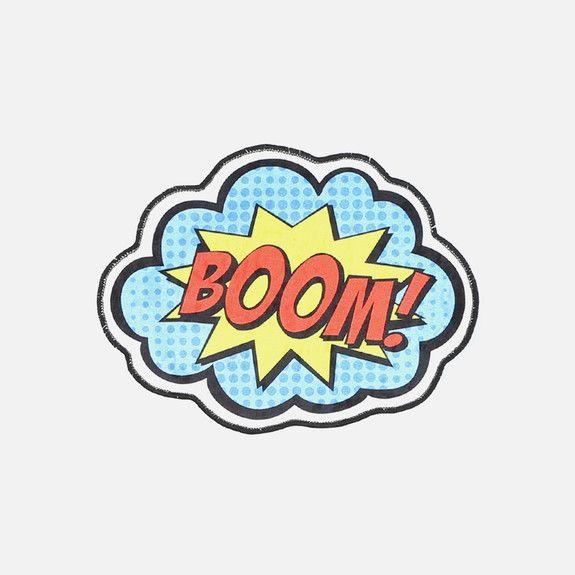 Boom Printed Mat